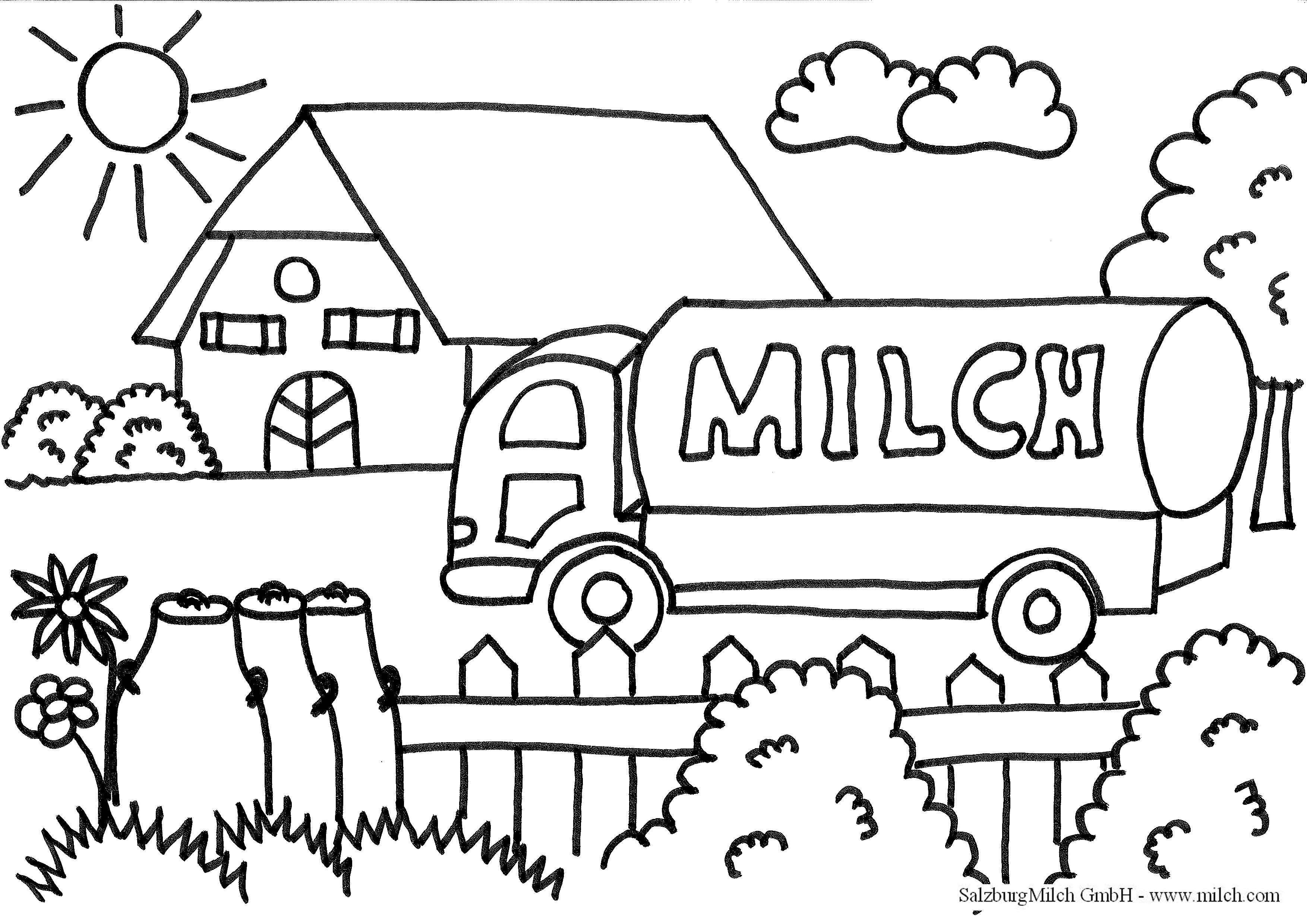Malvorlagen - SalzburgMilch